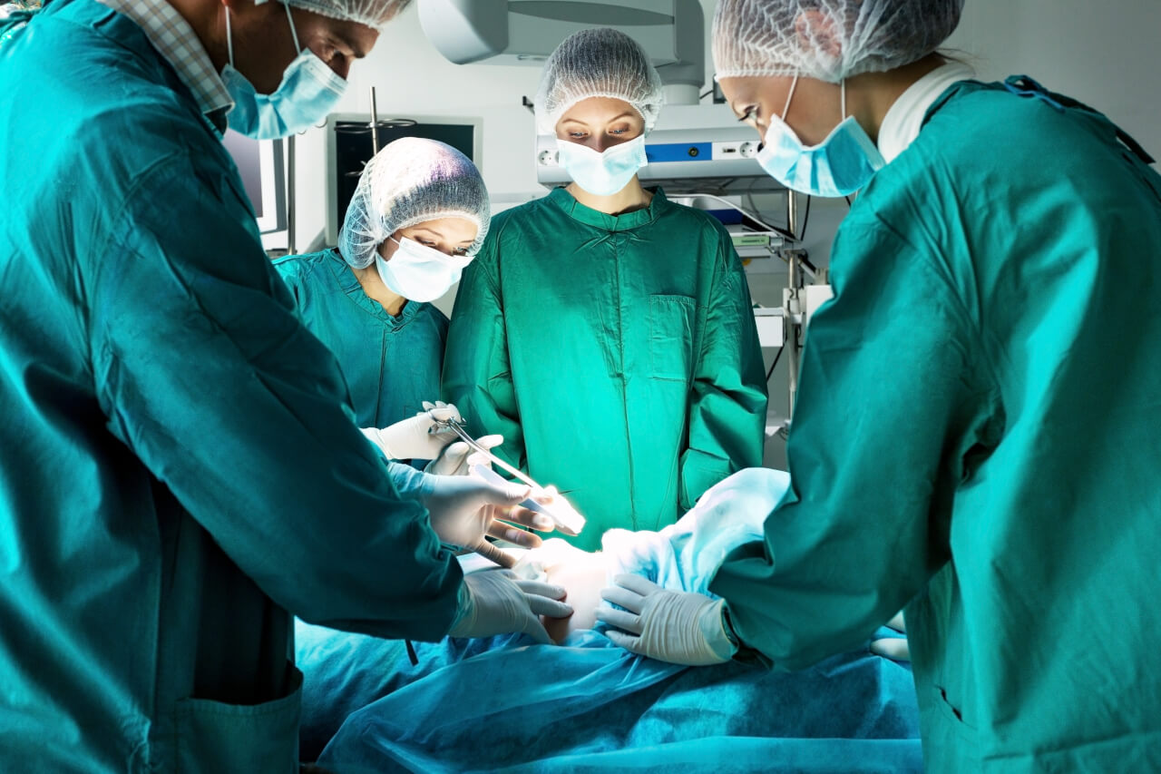 Possibility of having surgery without anesthesia